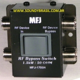 8f0cf93fce1 MFJ-1705H Chave de RF p  Bypass - 1500W
