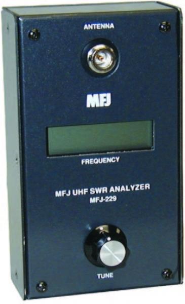 MFJ-220B - SWR ANALYZER, 34 TO 69 MHZ W LCD - Impex